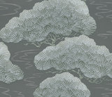 Behang Little Greene Pines silver pine 20th Century Papers Collectie Luxury By Nature