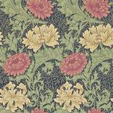 Behang William Morris Chrysanthemum Morris & Co 212549