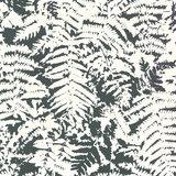 Behang Little Greene Fern OFF BLACK 20th Century Papers Collectie Luxury By Nature