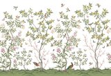 Rebel Walls Chinoisierie Chic behang wit R16744