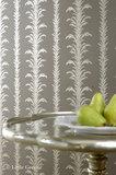 Little Greene behang, London Wallpapers 2, lauderdale, bruin, grijs, zilver, 0273LATRUFF, luxury by nature