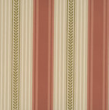 Little Greene behang, London Wallpapers 2, behang,Maddox street, groen, wit, streep, 0273MSMEDI,