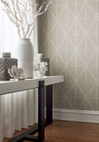 Thibaut Cafe Weave Trellis Behang