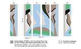 Elitis Cyclades BehangFlower Power behang collectie TP_308_01