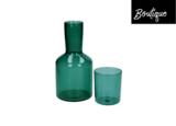 Lasi Waterkaraf en Glas GroenBlauw