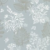 Little Greene Norcombe behang - Welkin_