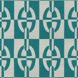 Sierkussen Hermes Stof Optique Chaîne D'Ancre 50 x 50 cm