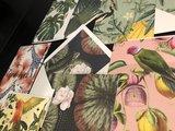 Decoratieve wenskaarten  (6 stuks)
