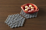 Onderzetter Studio Hive Charcoal Luxuty By Nature Boutique
