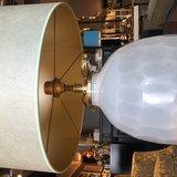 Luxe tafellamp Mintgroen