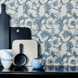 Little Greene Stag Trail Behang National Trust Papers