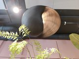 Bamboo Valbonne Lamp Black Ø80