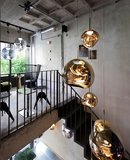 Tom Dixon Hanglamp Melt LED Gold Large Round