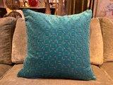 Luxury By Nature Sierkussen Stof Sahco Dalston Blue 60 x 60 cm