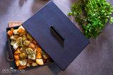 DutchDeLuxes Ovenschaal Zwart - Large