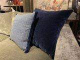 Luxury By Nature Sierkussen Stof Jane Churchill Lazurite Indigo 60 x 60 cm