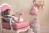 behang little sanderson ballet shoes meisjes kamer behang