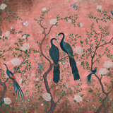 coordonne edo dusky pink behang 6600092