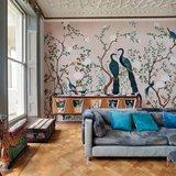 Coordonne Edo Pink behang 6600091 sfeer impressie