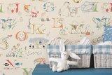 behang little sanderson alpabet zoo