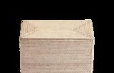 2-delig Mandenset Basket RD Decor Walther - Licht Rotan