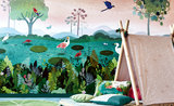 Villa Nova Dusky Amazon Wall Mural Behang W574/01