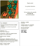 ELITIS Vol au Dessus du Paradis 01 Paneelbehang (TP_327_01)