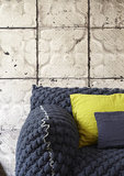 tegelbehang vintage tegels ceiling arte  brooklyn tin 03 sfeer 2