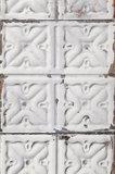 tegelbehang vintage tegels ceiling arte  brooklyn tin 04 sfeer