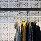 tegelbehang vintage tegels ceiling arte  brooklyn tin 04 sfeer 2