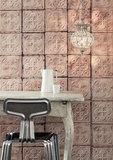 tegelbehang vintage tegels ceiling arte  brooklyn tin 06 sfeer 2