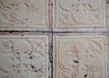 tegelbehang vintage tegels ceiling arte  brooklyn tin 06