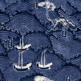 Mind the Gap Waves of Tsushima behang WP20513