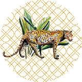 Catchii Wild Jungle Stories Panther Behangcirkel
