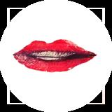 Catchii Lippen Behangcirkel