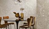 ARTE Symbiosis Behang White Gold - Icons