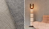 ARTE Waffle Weave Behang Brick Red - Icons Collectie