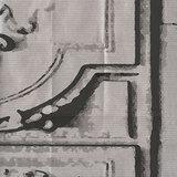 behang elitis La belle et la bête detail