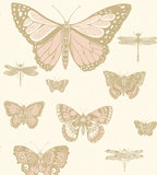 behang cole and son butterflies and dragonflies whimsical 103 15066