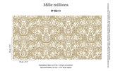 behang elitis jubilee 862-01 mille millions patroon