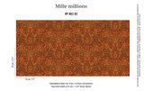 behang elitis jubilee 862-02 mille millions patroon