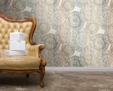behang arte rosone denim Denim J&V 131 behangpapier collectie