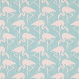 behang sanderson flamingos 214569 vintage 2 behangpapier