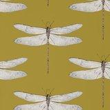 behang Harlequin Demoiselle 111244 ochre grape Palmetto Behangpapier Luxury By Nature