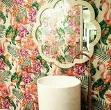 Behang Matthew Williamson Flamingo Club  Cubana Behangpapier Collectie Luxury By Nature sfeer 2