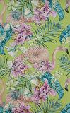 Behang Matthew Williamson Flamingo Club W6800-02 Cubana Behangpapier Collectie Luxury By Nature