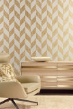 Behang ARTE Triangle 99060 Mirage Luxury By Nature sfeer