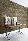 Behang Wallquest Tropical Leaves sfeer sage 2 luxury by nature