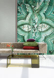 Behang Wallquest Stone Mural SG42802M Sage 2 Luxury By Nature sfeer