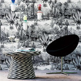 Behang Pierre Frey Pampa Jungle Collectie Luxury By Nature sfeer